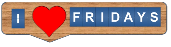 I Love Fridays CUTOUT image