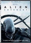 Alien Covenant DVD cover