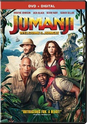 Jumanji DVD cover